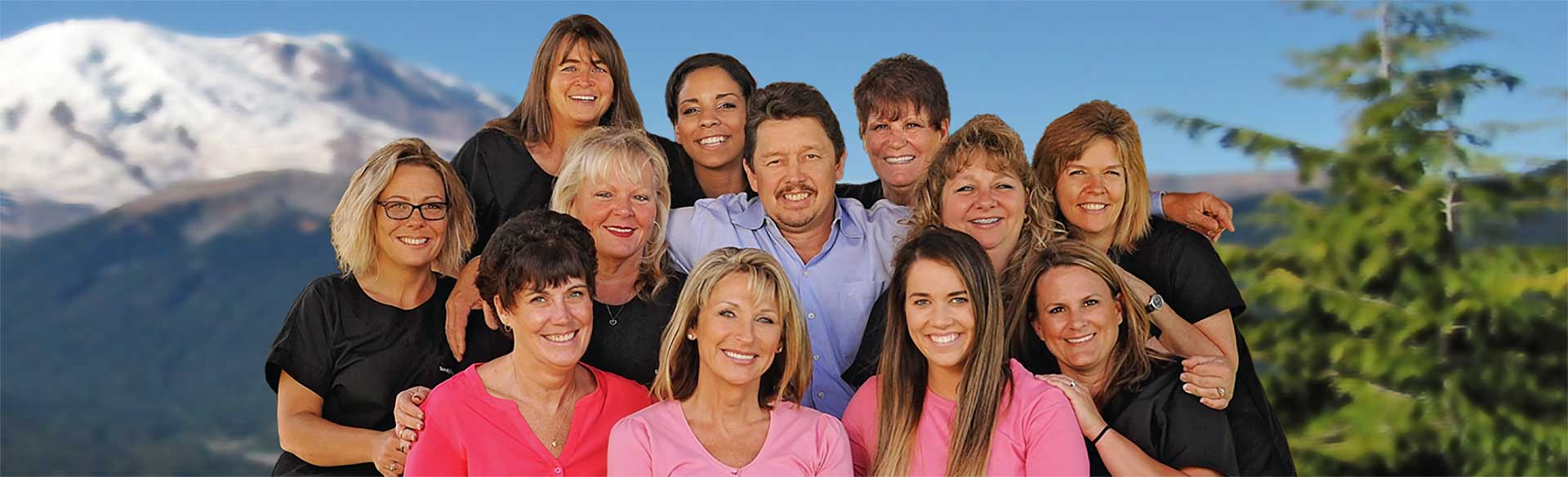 portrait of Dr. Irwin and team at Vancouver Orthodontic Specialists PLLC