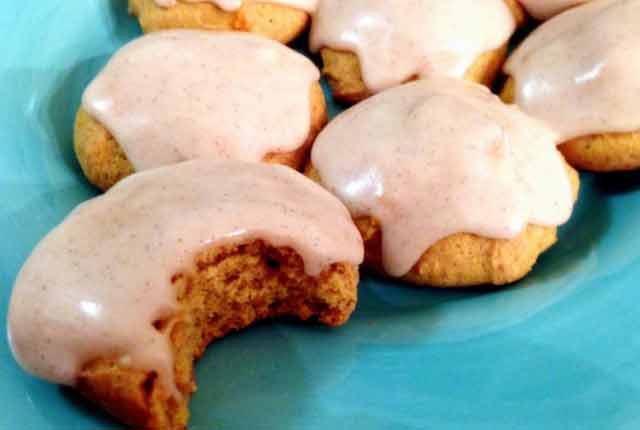Soft Pumpkin Cookies