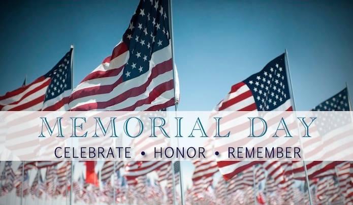 Memorial Day Celebrate-Honor-Remember
