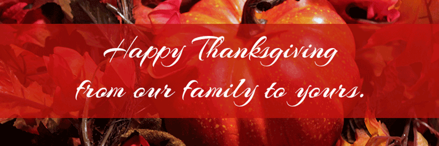 Happy Thanksgiving from Vancouver Orthodontic Specialists PLLC