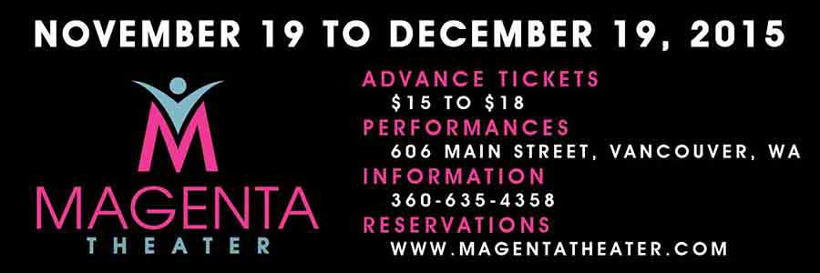 The Lion, the Witch and the Wardrobe opens tonight at the Magenta Theater in downtown Vancouver, WA