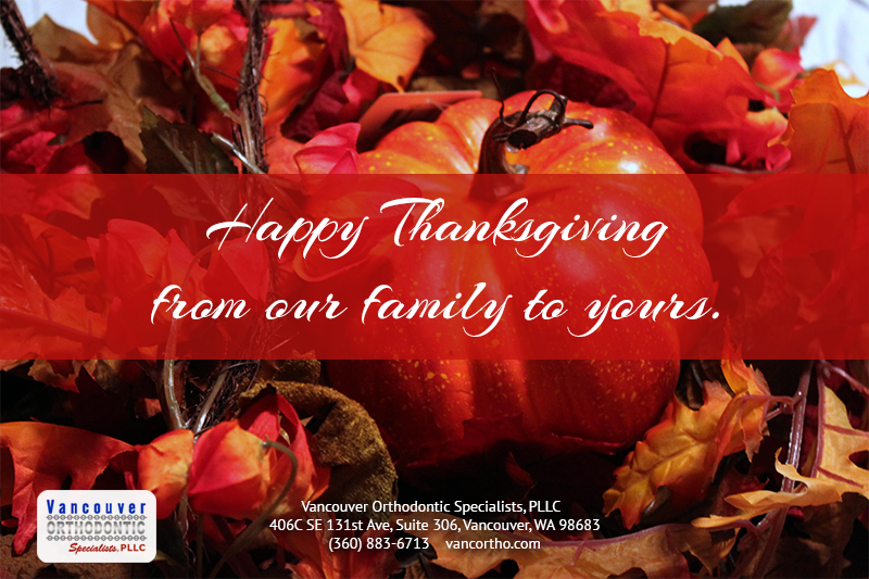 Happy Thanksgiving from our family to yours.