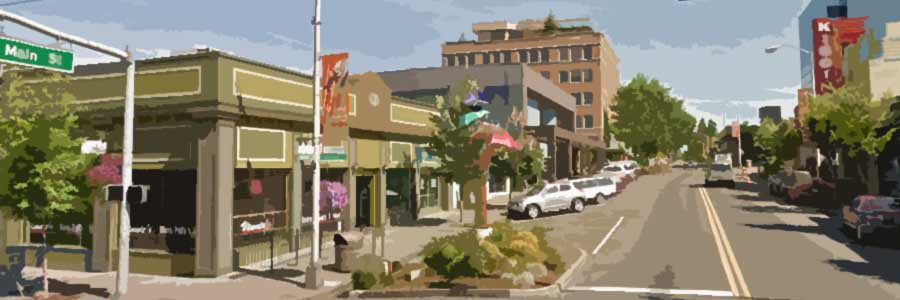 Artistic rendering of downtown Vancouver, WA
