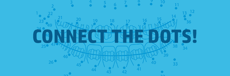 braces themed connect the dots