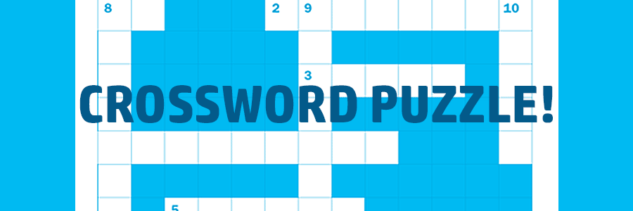 Ortho-themed Crossword Puzzle for Kids