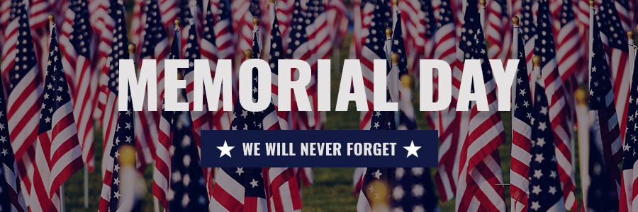 Memorial Day-We Will Never Forget