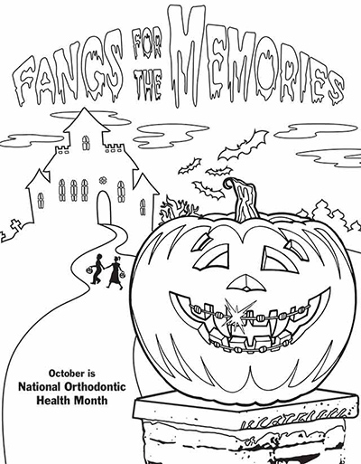 fangs for the memories free coloring sheet download