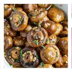 Braces friendly recipes for mashed winter squash, cranberry pear sauce and roasted mushrooms