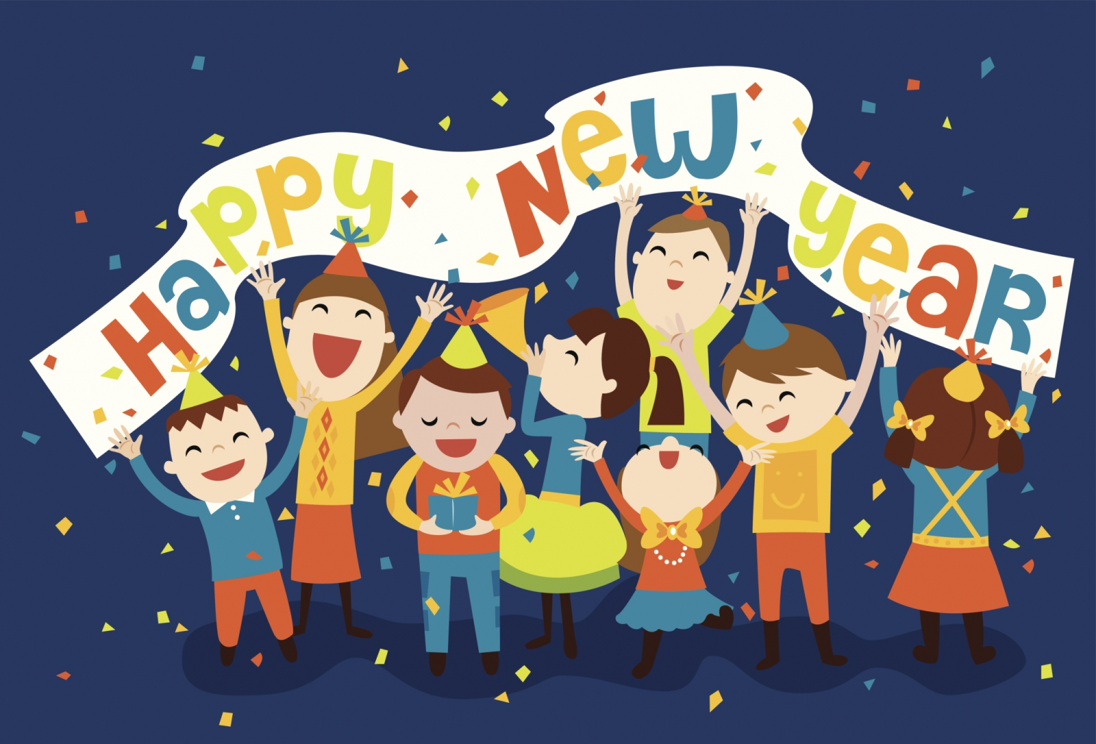 Ring in the new year with the kiddos