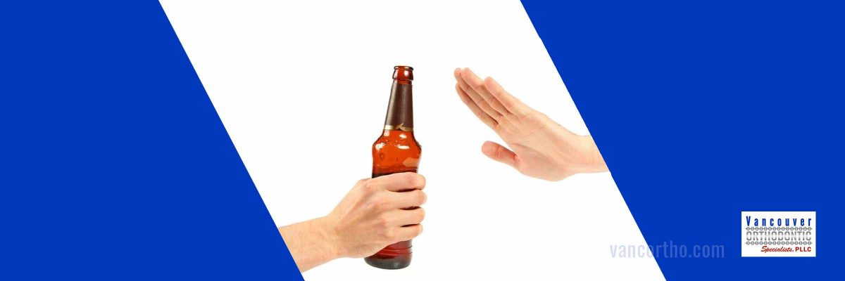 Person refusing alcohol