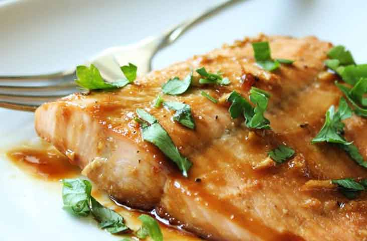Easy Maple Salmon Recipe