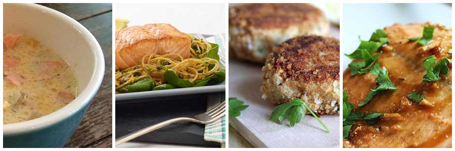 Braces friendly salmon chowder, pasta, patties and broiled recipes