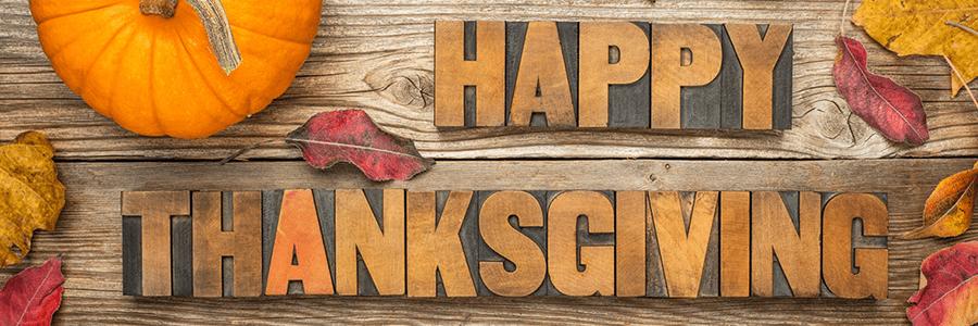 Wishing everyone a Happy Thanksgiving!