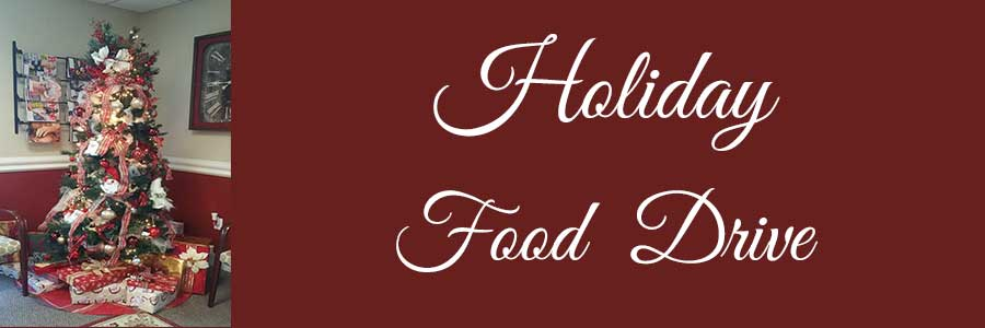 Holiday Food Drive and Office Contest December 2018