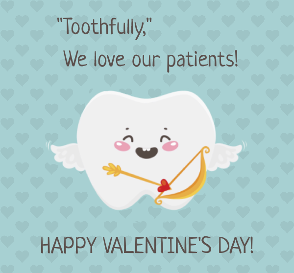 Toothfully, we love our patients! Happy Valentine's Day!